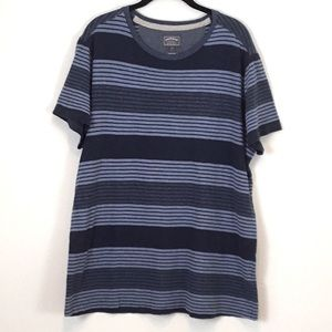 Fat Face, United Kingdom, Men's Blue Striped Shirt